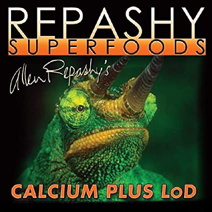 Calcium Plus LoD 17.6oz Daily Calcium Supplement & Vitamin with Low Levels of D3 Repashy Superfoods