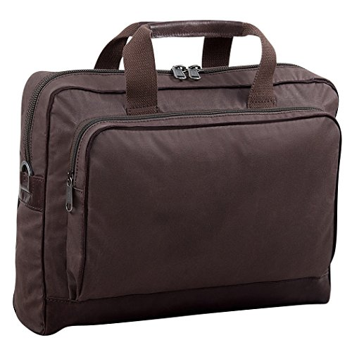 BREE, Briefcase, Hannover 6 mocca Dunkelbraun
