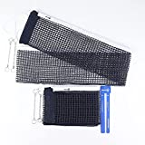 Sanung C-X1 Table Tennis Net Set, [2 Pieces] Ping