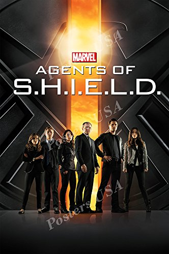 Shield Glossy (Posters USA Marvel Agents of Shield TV Series Show Poster GLOSSY FINISH - TVS154 (24