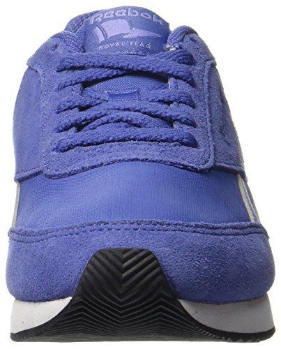 Reebok Damen Royal CL Jogger 2 Gymnastikschuhe Violett (Hs-lilac Shadow/lilac Glow/gua Punch/wht/blak)