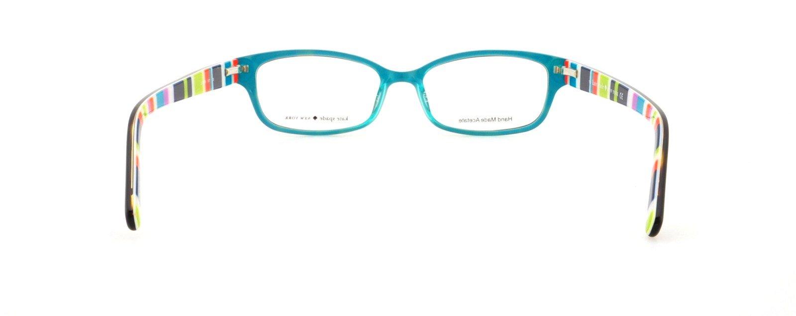 Kate Spade Lucyann Eyeglasses-0X77 Tortoise Aqua Striped-51mm