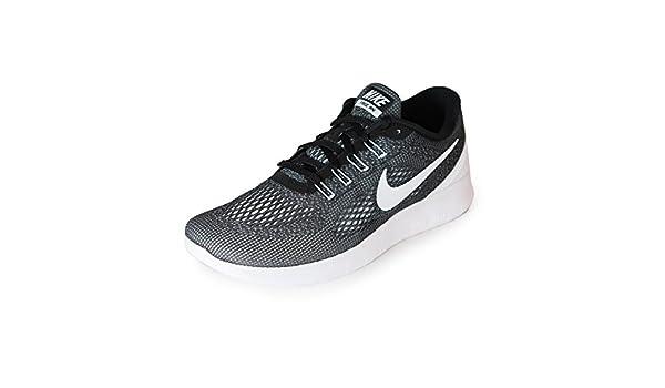 Nike Free RN H Hombre Zapatillas running - Negro/Blanco, 44: Amazon.es: Zapatos y complementos