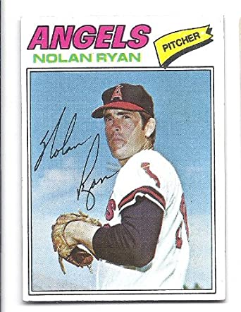 Amazoncom Nolan Ryan 1977 Topps 650 Card California Angels