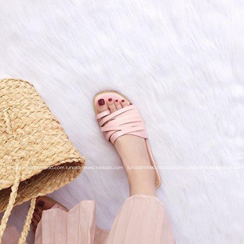orteil plates de mince paresseux pantoufles vent veste avec était vacances croix Beat mince vacances des Europe Street A xAp6Zqw