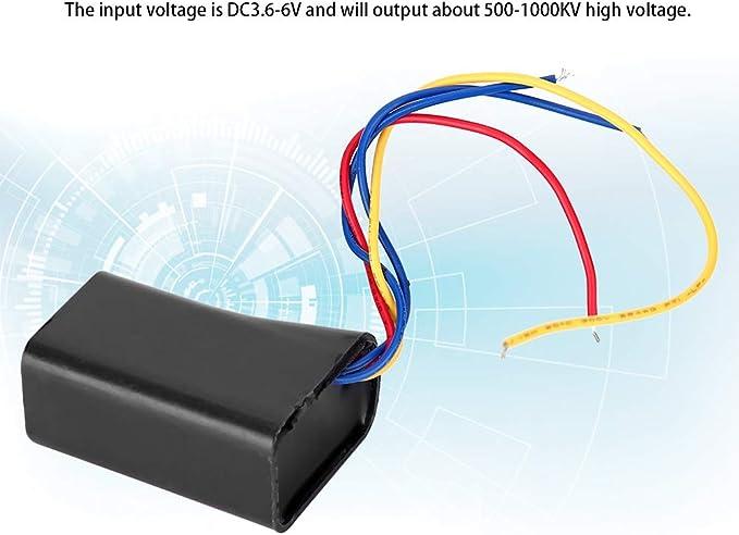 Ccylez High Voltage Generator DC3.7-6V to 800KV high Voltage Transformer Super Arc Boost Step-Up Power Module high Voltage Module