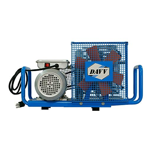 D Machinery Compact Electric Compressor 1.5kw 2HP 4500psi High Pressure Air Charging System for Scuba Scba PCP Paintball Tanks Filling (110V 60Hz) - Hpa Tank System
