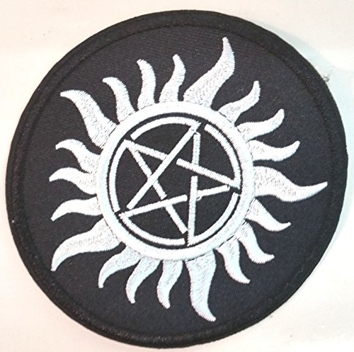 Supernatural Patch Anti Possession, Anti Demon Witchcraft Iron On Patch Badge