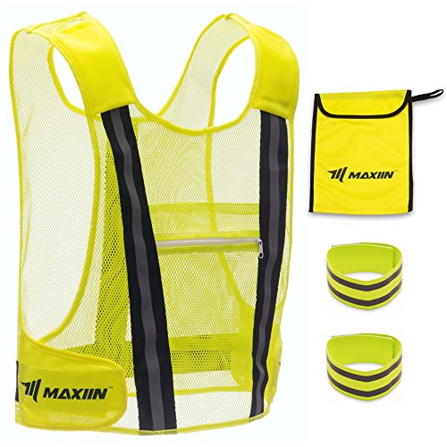 X-large Bright Reflective Safety Vests - 4