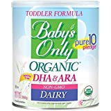 Baby's Only Toddler Formula, Dairy with DHA & ARA, 12.7 Ounce (Pack of 12)