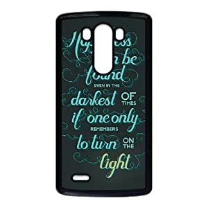 Harry Potter quotes LG G3 Cell Phone Case Black JU0997063