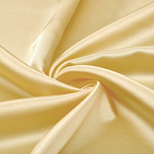 Silk Empire Dress A Evening line Sunbeam Halter Stretch Satin like Long CdtwP1q1