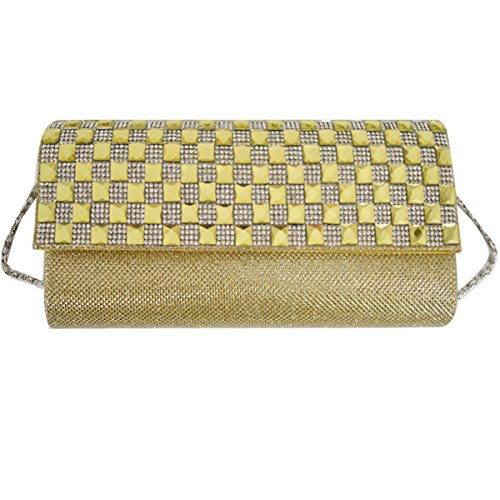 Monique Handbag Mini body Evening Chain Sling 2015 Bag Golden Bag Bag Women Cross Clutch Bag awaBf