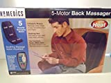 Best Massagers With Heats - HoMedics 5 Motor Back Massager with Heat Review