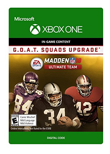 Amazon.com: Madden NFL 18: G.O.A.T. Edition - Xbox One ...