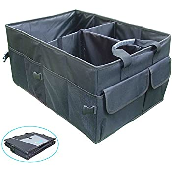 iTovin Extra Large Auto Trunk Organizer – New Black