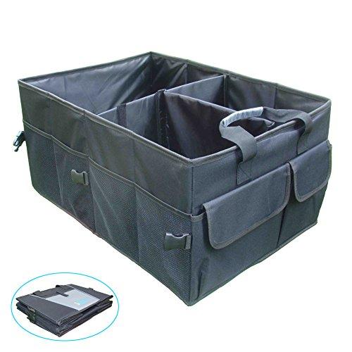 iTovin Extra Large Auto Trunk Organizer – New Black