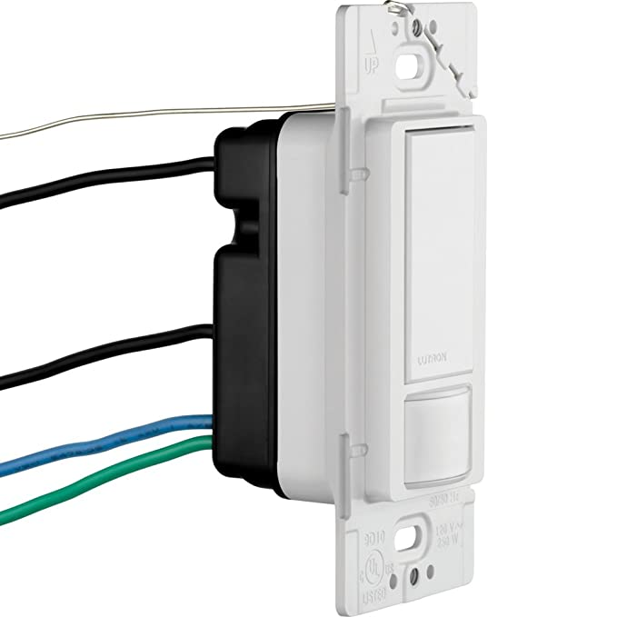 lutron ms-ops5m-wh maestro sensor switch, 5a, no neutral required,  single-pole or multi-location ms-ops5mh-wh, white - electrical outlet  switches - amazon