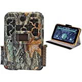 Browning 20MP/1080P Video Recon Force Trail Camera and 9 Lowdown Game Cam Image & Video Viewer Kit