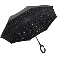 Plemo Double Layer Inverted Windproof Reverse Umbrella