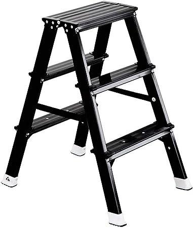 Yang baby Escalera Interior Escalera de Aluminio Escaleras Plegables para el hogar Escalera de Tres peldaños Escalera de Engrosamiento portátil: Amazon.es: Hogar