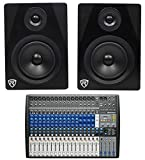 PRESONUS StudioLive AR22 USB Hybrid Digital/Analog Mixer + (2) Studio Monitors
