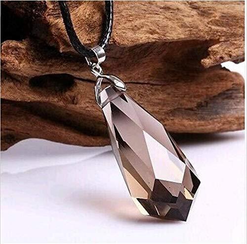 - Beautiful Natural Smoky Quartz Pendants Pendulum Crystal Healing