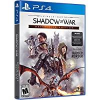 Middle Earth: Shadow of War - Complete Defintive Edition - PlayStation 4