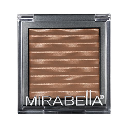 Mirabella Bronzed Mineral Bronzer with Shimmering Sun-Kissed Glow – Burnt Copper, 7.5g/0.26oz