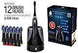 Pursonic S750 Sonic Toothbrush with UV Sanitizing Function, Black, 1.5 lb