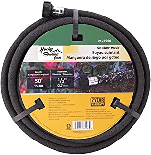 Amazon swan products miracle gro mgspa38050cc premium soaker rocky mountain goods soaker hose heavy duty rubber saves 70 water end solutioingenieria Image collections