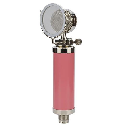 AZWE Micrófono de condensador Mini grabación Micrófono de ...