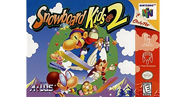 Amazoncom Snowboard Kids 2 Nintendo 64 Video Games