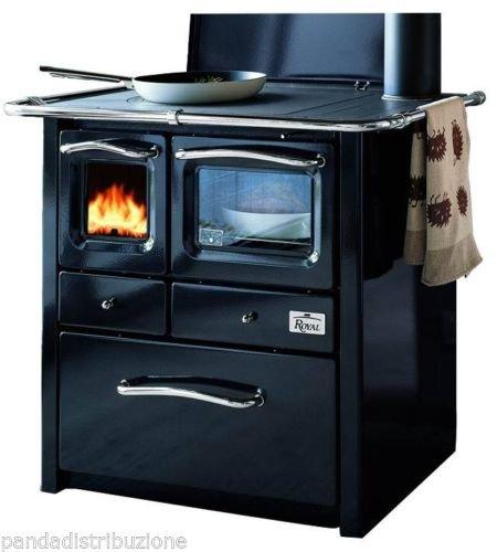 Cucine / Cucina Royal a legna Mod. Gaia canna di fucile: Amazon.it ...