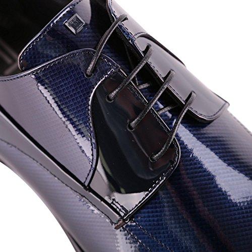 Carlo Pignatelli Mens 36z8521diamblu Scarpe Stringate In Pelle Blu