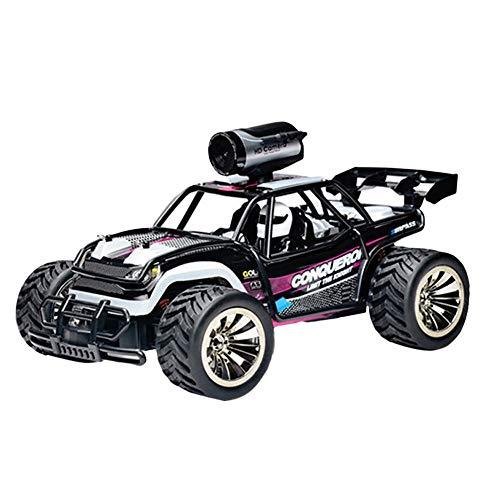 Remote Control RC Truck Radio 0.3MP HD Camera, BG1516, 1:16 Scale RC Car 2WD Off Road Vehicle 2.4G Car Racing Rock Crawling -