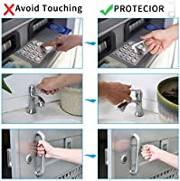 Kshineni Stylus Keychain Tool Non Contact Door Opener Reusable Portable Healthy Handheld Keychain Tool Avoid Dirty Environmental