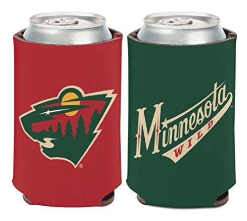 fan products of NHL Minnesota Wild 12 oz. 2-Sided Can Cooler