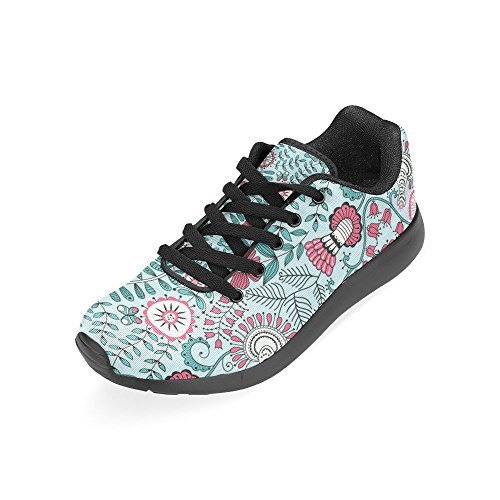 on Sneakers 45 Size Purple Womens Color9 Lightweight Running Auto 36 Retro red Casual Plates Licence Athletic Shoes Pattern Flowers Zenzzle Print W7HaqFa