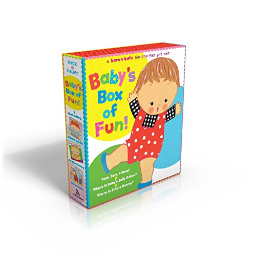 Body Flap (Baby's Box of Fun: A Karen Katz Lift-the-Flap Gift Set: Where Is Baby's Bellybutton?; Where Is Baby's Mommy?: Toes, Ears, Nose!)