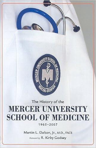 The History of the Mercer University School of Medicine
