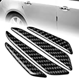 runmade Universal Auto Door Side Edge Protection Guard - Carbon Fiber Anti-Scratch Protector Trim Sticker for Car SUV Pickup Truck