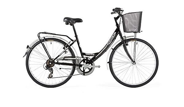 Agece Urban-26 Bicicleta de Paseo, Mujer, Negro, S: Amazon.es ...