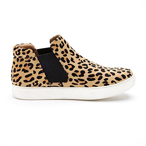 Matisse Women's Harlan Sneaker, Leopard Hair, 10 M US (Leopard Sneakers Men)