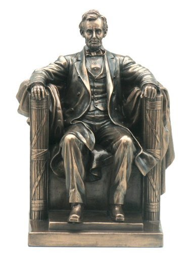 """9.5"""" Abraham Lincoln Figure Statue Sculpture President for sale  Delivered anywhere in USA"""