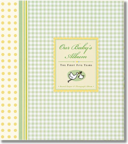 Our Baby's Album: The First Five Years -- Record Keeper and Photograph Album (with Slipcase) (Baby Book)