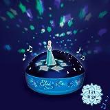 Frozen Elsa Dancing Figurine 200 Stars with Let it Go Musical Projector