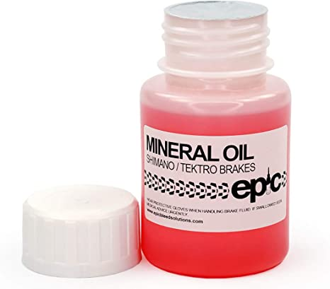 Aceite mineral de líquido de frenos para Shimano/frenos Tektro, 100 ...