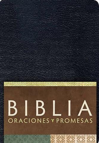 RVC Biblia Oraciones y Promesas - Negro imitación piel (Spanish Edition) (Biblia Oraciones Y Promesas)