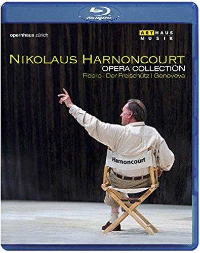 Nicolaus Harnoncourt Opera Collection: Fidelio, Der Freischuetz & Genoveva [Blu-ray]
